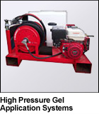 High Pressure Gel Application Systems